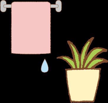 タオルと花.png