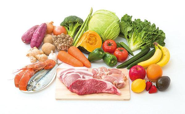 野菜・肉・魚イメージ
